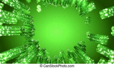 Loopable tracing dollar symbols - Loopable tracing green...