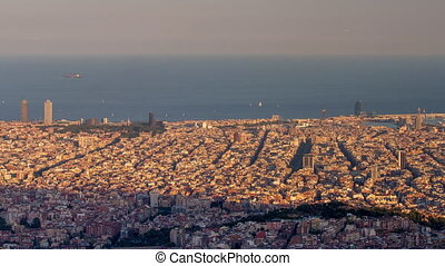 Loopable video of cityscape of Barcelona, Spain - Boomerang ...