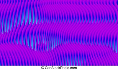 Abstract colorful wavy background in blue color.