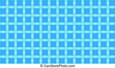 Looped geometric ornamental animation. Abstract background...