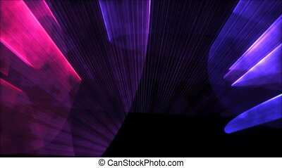 Looped Laser Lights Dance Background