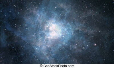 Looped nebula flight