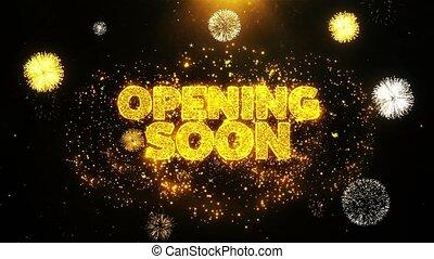 looped, otwarcie, karta, niebawem, zaproszenie, życzenia, ...
