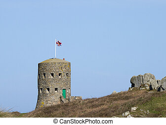 loophole towers in Guernsey - The British built 15 Guernsey...