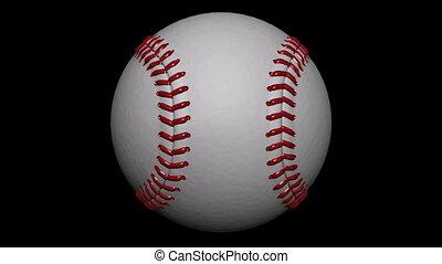 Looping Baseball Ball Animation 1