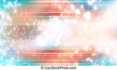 Multicolor Bright Particle Abstract