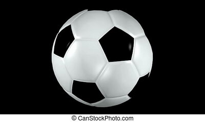 Looping Soccer Ball Animation 1 - Seamless loop soccer...