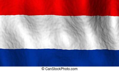 looping, vlag, nederland