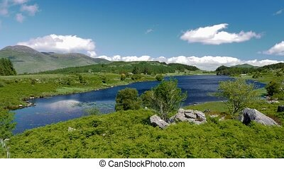 looscaunagh, lough, bezirk kerry, irland, -, eingestuft, version