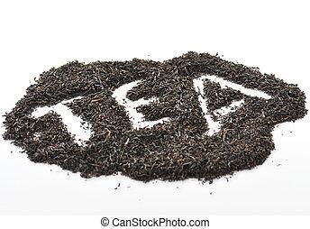 loose tea background