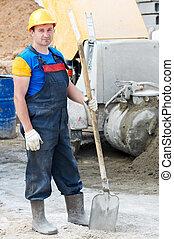 lopata, dělník