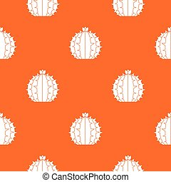 Lophophora cactus pattern seamless