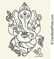 Lord Ganesha.