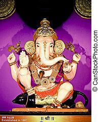 Lord Ganesha, Ganesh Festival, Maharashtra, India