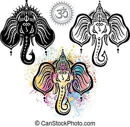 Lord Ganesha set