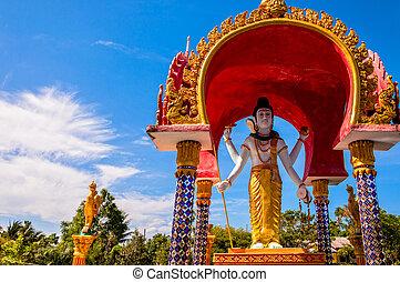 Lord Shiva statue in Koh Samui