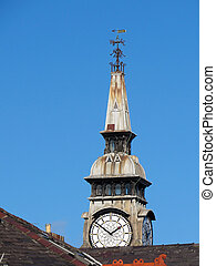 Lord street town hall and clock jan merseyside southport