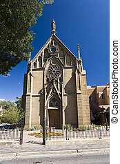 Loretto Chapel, Santa Fe in New Mexico, USA