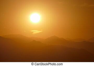 los, 日の出, 山, アンジェルという名前の人たち, san gabriel