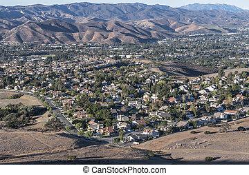 Los Angeles Area Suburbs
