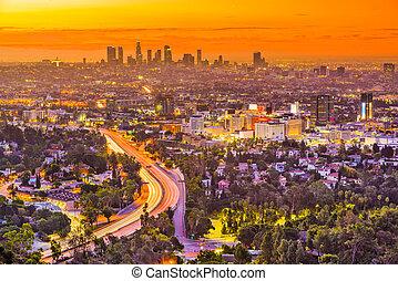 Los Angeles, California Skyline