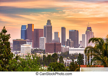 Los Angeles, California, USA Skyline