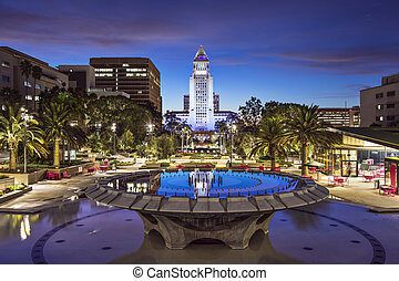 Los Angeles City Hall - Los Angeles, California, City Hall