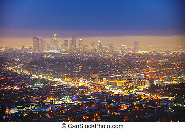 los angeles, cityscape