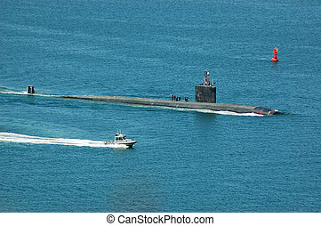Los Angeles Class Attack Submarine - A Los Angeles Class...
