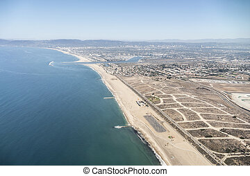 Los Angeles Coastal Aerial