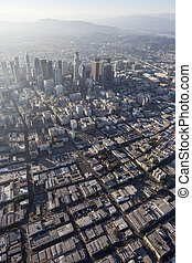 Los Angeles Downtown Aerial