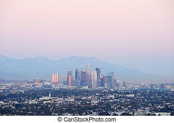 Los Angeles dusk
