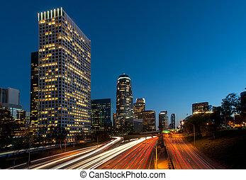Los angeles freeway city