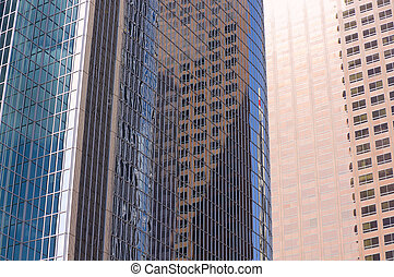 Los Angeles Glass Skyscrapers