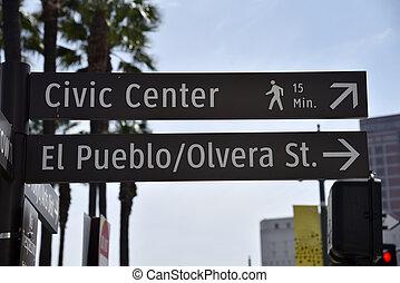 Los Angeles Landmark Sign