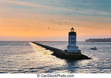 Los Angeles LIghthouse at Dusk