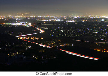 Los Angeles San Fernando Valley Night