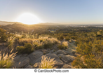 Los Angeles San Fernando Valley Sunrise