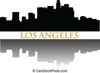 Los Angeles skyline a - Los Angeles skyline