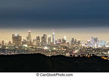 Los Angeles Skyline - California