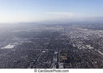 Los Angeles Smog Aerial