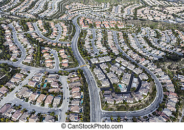 Los Angeles Stevenson Ranch Aerial