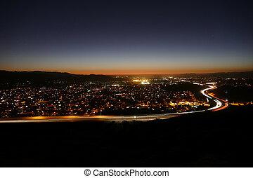 Los Angeles Suburban Dusk
