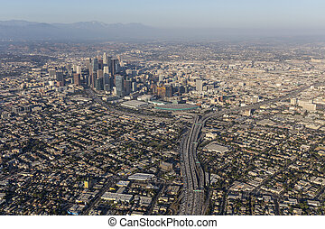 Los Angeles Summer Smog Aerial
