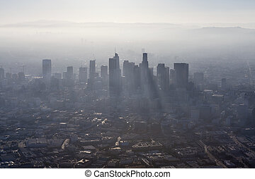 Los Angeles Summer Smog Aerial