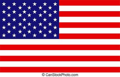 los estados unidos de américa, bandera