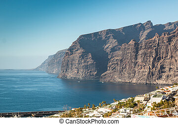 Los Gigantes Cliff in Tenerife, Canary Islands