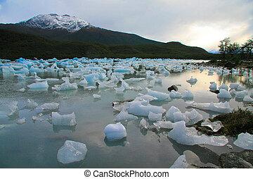 los, parque, patagonia, アルゼンチン, glaciares