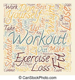 Lose Weight How to Exercise and Burn Fat on a Busy Schedule...