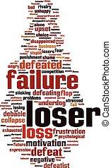 Loser word cloud